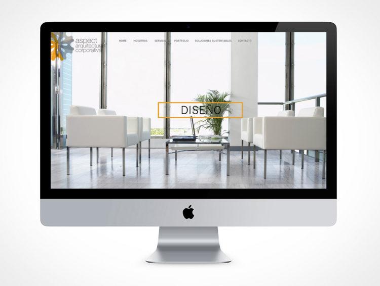 web aspect para diseño
